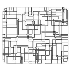 Structure Pattern Network Double Sided Flano Blanket (small)