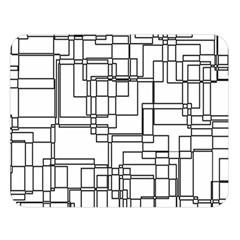 Structure Pattern Network Double Sided Flano Blanket (large)