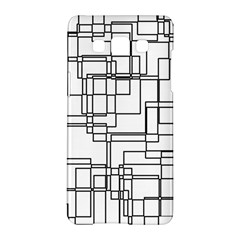 Structure Pattern Network Samsung Galaxy A5 Hardshell Case