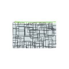 Structure Pattern Network Cosmetic Bag (xs)