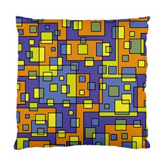 Square Background Background Texture Standard Cushion Case (two Sides)