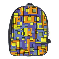 Square Background Background Texture School Bags(large)