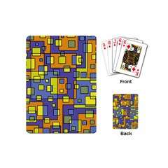 Square Background Background Texture Playing Cards (mini)
