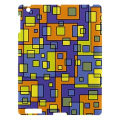 Square Background Background Texture Apple Ipad 3/4 Hardshell Case