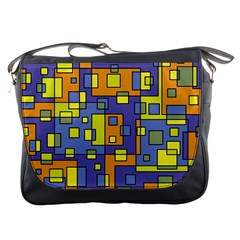 Square Background Background Texture Messenger Bags