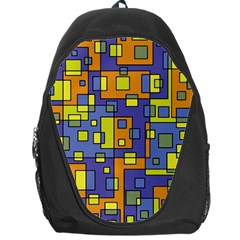 Square Background Background Texture Backpack Bag