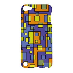 Square Background Background Texture Apple Ipod Touch 5 Hardshell Case