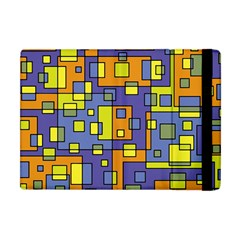 Square Background Background Texture Apple Ipad Mini Flip Case