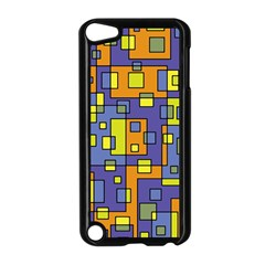Square Background Background Texture Apple iPod Touch 5 Case (Black)