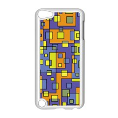 Square Background Background Texture Apple Ipod Touch 5 Case (white)