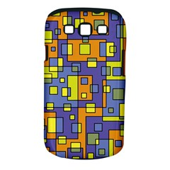 Square Background Background Texture Samsung Galaxy S Iii Classic Hardshell Case (pc+silicone)