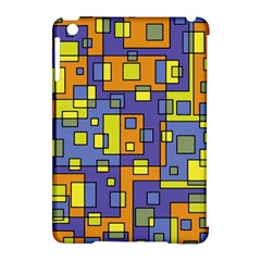Square Background Background Texture Apple Ipad Mini Hardshell Case (compatible With Smart Cover)