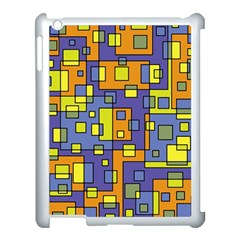 Square Background Background Texture Apple Ipad 3/4 Case (white)