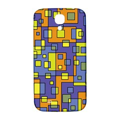 Square Background Background Texture Samsung Galaxy S4 I9500/i9505  Hardshell Back Case