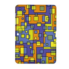 Square Background Background Texture Samsung Galaxy Tab 2 (10 1 ) P5100 Hardshell Case