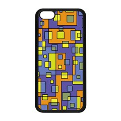Square Background Background Texture Apple Iphone 5c Seamless Case (black)