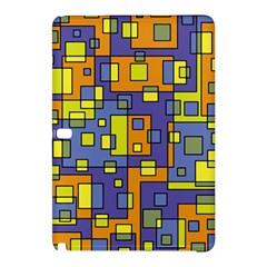 Square Background Background Texture Samsung Galaxy Tab Pro 10 1 Hardshell Case