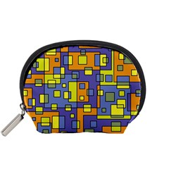 Square Background Background Texture Accessory Pouches (small)