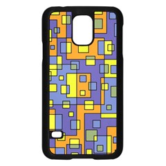 Square Background Background Texture Samsung Galaxy S5 Case (black)