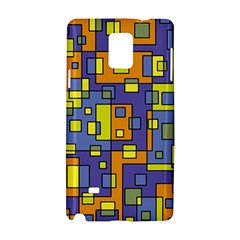 Square Background Background Texture Samsung Galaxy Note 4 Hardshell Case