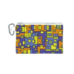 Square Background Background Texture Canvas Cosmetic Bag (s)