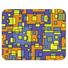 Square Background Background Texture Double Sided Flano Blanket (medium)