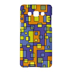 Square Background Background Texture Samsung Galaxy A5 Hardshell Case