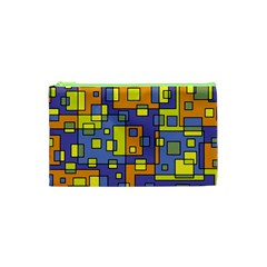 Square Background Background Texture Cosmetic Bag (xs)