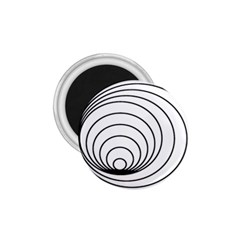Spiral Eddy Route Symbol Bent 1 75  Magnets