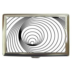 Spiral Eddy Route Symbol Bent Cigarette Money Cases