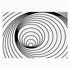 Spiral Eddy Route Symbol Bent Large Glasses Cloth