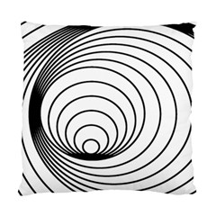 Spiral Eddy Route Symbol Bent Standard Cushion Case (two Sides)