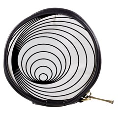 Spiral Eddy Route Symbol Bent Mini Makeup Bags