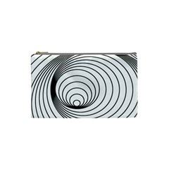 Spiral Eddy Route Symbol Bent Cosmetic Bag (small)
