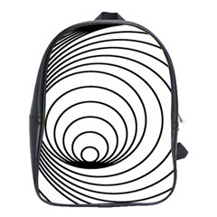 Spiral Eddy Route Symbol Bent School Bags(large)
