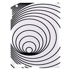 Spiral Eddy Route Symbol Bent Apple Ipad 3/4 Hardshell Case