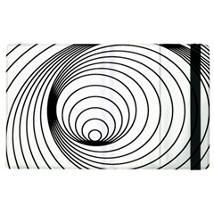 Spiral Eddy Route Symbol Bent Apple Ipad 2 Flip Case