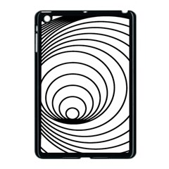 Spiral Eddy Route Symbol Bent Apple Ipad Mini Case (black)
