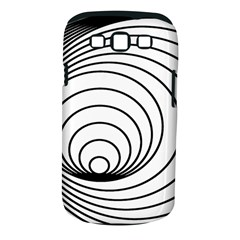 Spiral Eddy Route Symbol Bent Samsung Galaxy S Iii Classic Hardshell Case (pc+silicone)