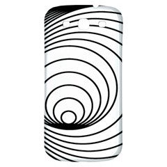 Spiral Eddy Route Symbol Bent Samsung Galaxy S3 S Iii Classic Hardshell Back Case