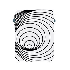 Spiral Eddy Route Symbol Bent Apple Ipad 2/3/4 Protective Soft Cases