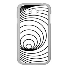 Spiral Eddy Route Symbol Bent Samsung Galaxy Grand Duos I9082 Case (white)