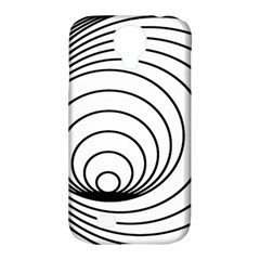 Spiral Eddy Route Symbol Bent Samsung Galaxy S4 Classic Hardshell Case (pc+silicone)