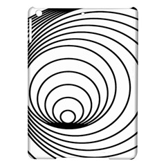 Spiral Eddy Route Symbol Bent Ipad Air Hardshell Cases