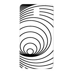 Spiral Eddy Route Symbol Bent Samsung Galaxy Note 3 N9005 Hardshell Back Case