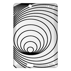 Spiral Eddy Route Symbol Bent Amazon Kindle Fire Hd (2013) Hardshell Case