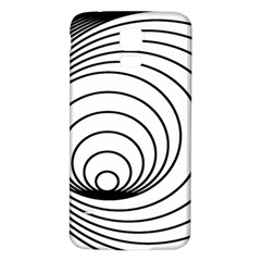 Spiral Eddy Route Symbol Bent Samsung Galaxy S5 Back Case (white)
