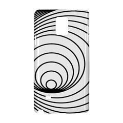 Spiral Eddy Route Symbol Bent Samsung Galaxy Note 4 Hardshell Case
