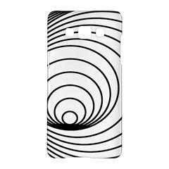 Spiral Eddy Route Symbol Bent Samsung Galaxy A5 Hardshell Case