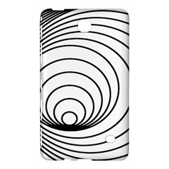 Spiral Eddy Route Symbol Bent Samsung Galaxy Tab 4 (8 ) Hardshell Case